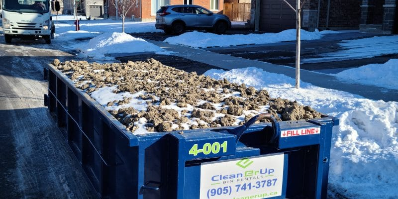 dumpster rental fees