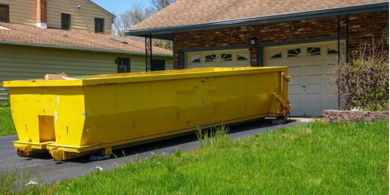 Garbage bin for hire dumpster rental